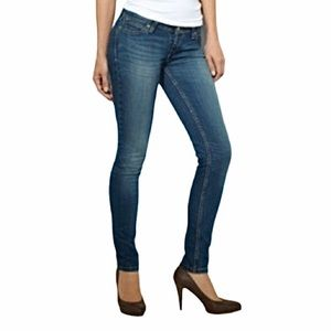 Levi's Bold Curve Low Rise Skinny Jeans 29x30